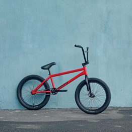 Sunday Forecaster Red BMX bike