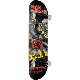 Iron Maiden skateboard